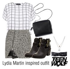 """""""Lydia Martin inspired outfit/TW"""" by tvdsarahmichele ❤ liked on Polyvore"""