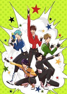 埋め込み画像 Shining Star, Ensemble Stars, Mystic Messenger, All Star, Anime Art, Idol, Character Design, Manga, My Love