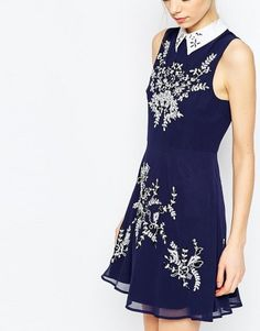 We love collars and sequins so this dress is definitely a winner.