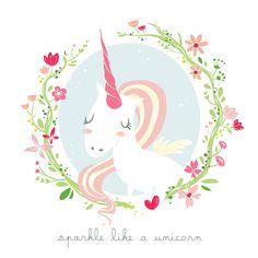 unicorn power! on Behance