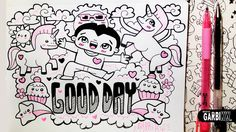 ♥ Good Day ♥ Hello Doodles ♥ Easy and Kawaii Drawings by Garbi KW
