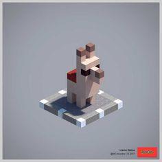 2017 Statue Collection (Redux) - Minecraft World Minecraft Statues, Minecraft Room, Minecraft Plans, Minecraft Survival, Minecraft Tutorial, Minecraft Blueprints, Minecraft Crafts, Minecraft Furniture, Minecraft Fossils