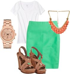 """""""perfect summer casual dress outfit"""" by eparmenter on Polyvore"""