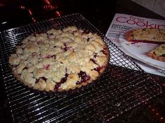 Cranberry almond tart from Dining with a Dinergirl: Better late than never!