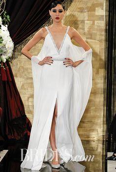 Brides: Theia Wedding Dresses - Fall 2016 - Bridal Runway Shows - Brides.com