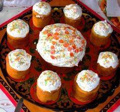 Вкусный рецепт кулича с орехами