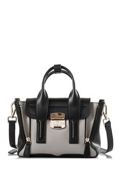 Obsessed with this structured satchel.