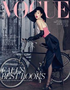 Jun Jihyun for Vogue Korea September 2013