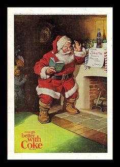 Vintage Coca-Cola Ad, 1963