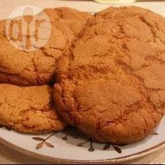 Recipe Picture:Quick Ginger Biscuits. Used normal flour and baking powder, fresh ginger and a bit of nutmeg. Needs to be a tiny bit sweeter for me.