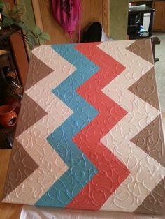 DIY canvas art