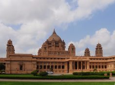 #Umaid_Bhawan_Palace, Jodhpur - How I Wish I Could Stay There for a Night? - The Umaid Bhawan Palace, #Jodhpur makes you want to forget #reality and compels you to get lost in the regal splendor. One look at the vastness of the property tells you that it is indeed meant for the blue blood and the priceless furniture and décor inside seals your deduction. #travel #destination #tourism