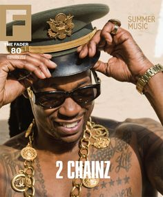 He's making 'rounds, 'n getting it.  2Chainz in Fader. Watching his change of fortune has been a tutorial in perseverance and branding.   #ATL