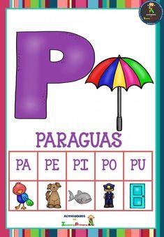 Preschool Learning Activities, Baby Learning, Spanish Activities, Flipped Classroom, Spanish Classroom, School Colors, Phonics, Literacy, Homeschool