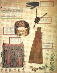 Así se vestían ellas en la Edad Media