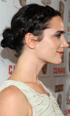 Jennifer Connelly#039;s Hair Updo Had A Pretty Grecian Twist, 2007