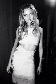 cohbalt:  sweetpeaandcoco:  Magdalena Frackowiak at the Victoria's Secret 2013 after party