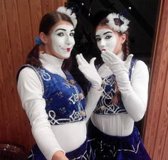 Mime Makeup, Goth, Hoodies, Sweaters, Fashion, Clowns, Moda, Gothic, Fashion Styles