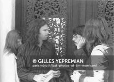 Last photos of Jim Morrison Paris 1971 Gilles Yepremian d