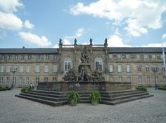 New Palace (Neues Schloss) castle - Bayreuth, Germany