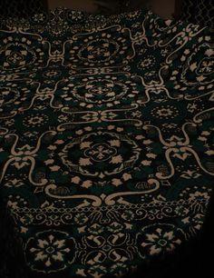Vtg Woven Cotton Tapestry Coverlet Bedspread Fringe Reversible Irish Scottish   eBay Weavers Cloth, Sams, Woven Cotton, Bedspread, Spreads, Irish, Weaving, Textiles, Tapestry