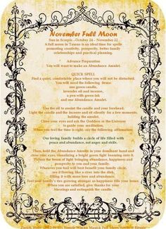 Full Moon - November November Full Moon, Sun In Scorpio, Moon Witch, Practical Magic, Paganism, New Moon, Wicca, Witchcraft, Space