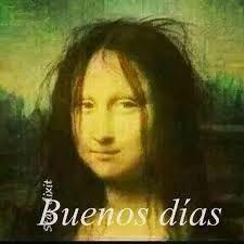 Mona Lisa before Coffee Comic Foto, Funny Images, Funny Pictures, Insta Memes, Videos Fun, Mona Lisa Parody, Spanish Jokes, Spanish Worksheets, Spanish 1
