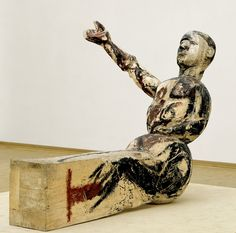George Baselitz, Model for a Sculpture, 1979 - 80.