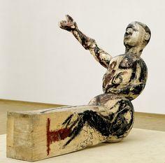 George Baselitz, Model for a Sculpture, 1979 - 80.