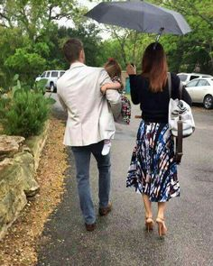 Ackles family on an Easter walk. JJ is sooo big! It doesn't seem right at all!