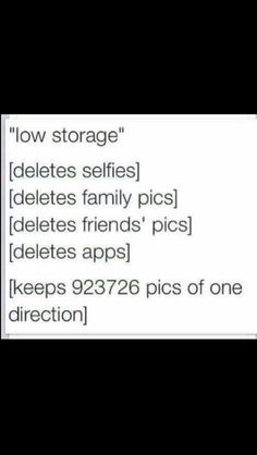 Haha why is this so true!  At the concert I was about to delete my contacts