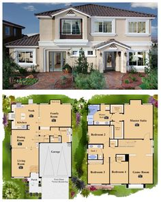 Las vegas new homes on pinterest homes for sales las American west homes floor plans