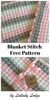 Crochet Afghan Lullaby Lodge: Tutorials - Learn how to crochet with these step by step tutorials. Bobble Stitch Crochet Blanket, Crochet Baby Blanket Free Pattern, Easy Crochet Blanket, Crochet For Beginners Blanket, Baby Knitting Patterns, Blanket Stitch, Crocheted Baby Blankets, Crochet Afghans, Crochet Granny