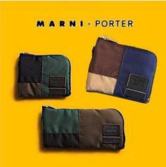MARNI×PORTER マルニ×ポーター Wネーム コインケース!!