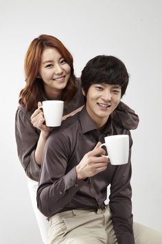 After School's UEE and Joo Won film CF for Cantata Coffee #allkpop #kpop #Afterschool