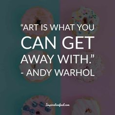 Andy Warhol is one of the most iconic artists of the as well as the leading figure in the pop art movement. Here are the best Andy Warhol quotes. Andy Warhol Quotes, Pop Art, Philosophy, Lyrics, Poetry, Thoughts, Writing, Life, Decorating