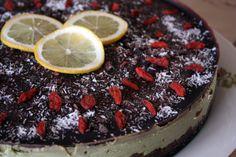 citronový dort Raw Food Recipes, Acai Bowl, Breakfast, Cake, Desserts, Lemon, Acai Berry Bowl, Morning Coffee, Tailgate Desserts