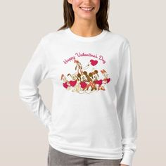Valentine's Day - Mickey and Friends T-Shirt - tap to personalize and get yours