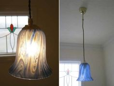 Lamp Shade 5073 ガラス ランプシェード 照明 イギリス 英国 アンティーク インテリア 雑貨 家具 Antique ¥2980yen 〆06月07日