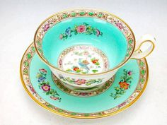 this is  a dream come true cup and saucer  Wedgwood 1950
