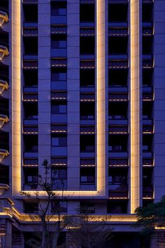 Фасадная подсветка жилого дома