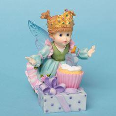 My Little Kitchen Fairies Queen For A Day Birthday Figurine 4032693  #MyLittleKitchenFairies