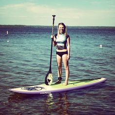 Finally got my paddle board in the water. What an amazing new way to explore my favourite lake :) Ashley Jensen, Sup Stand Up Paddle, Sup Yoga, Standup Paddle Board, Sup Surf, Paddle Boarding, Kite, Beast, Surfing