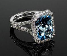 Sapphire Bracelet, Aquamarine Jewelry, Diamond Jewelry, Gemstone Jewelry, Jewelry Rings, Jewelry Accessories, Fine Jewelry, Jewlery, New Blue