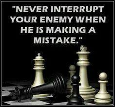 Don't interrupt