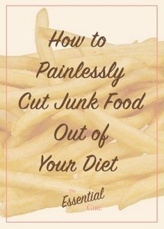 Giving up junk food doesn't have to be a long, painful process. Here are a few quick tips to help you transition away from junk food as painlessly as possible. Plus, click through to claim your FREE junk food replacement cheat sheet!