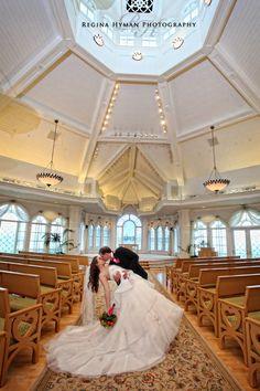 Walt Disney World Wedding Photos: Lindsey + Scott