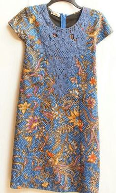 Image result for batik dress sleeveless indonesia