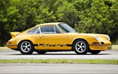 1973 Porsche 911 Carrera 2.7 RS Touring | Gooding & Company  #Lease #Porsche #YellowCar #PremierFinancial
