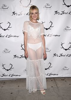 Best dressed: Jena Malone